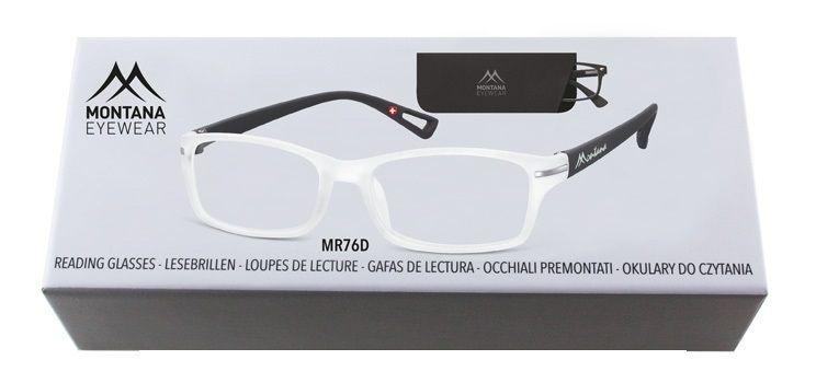 MONTANA EYEWEAR Dioptrické brýle BOX76D +3,00