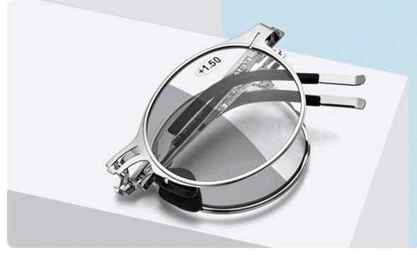 Samozabarvovací skládací dioptrické brýle FON +1,50