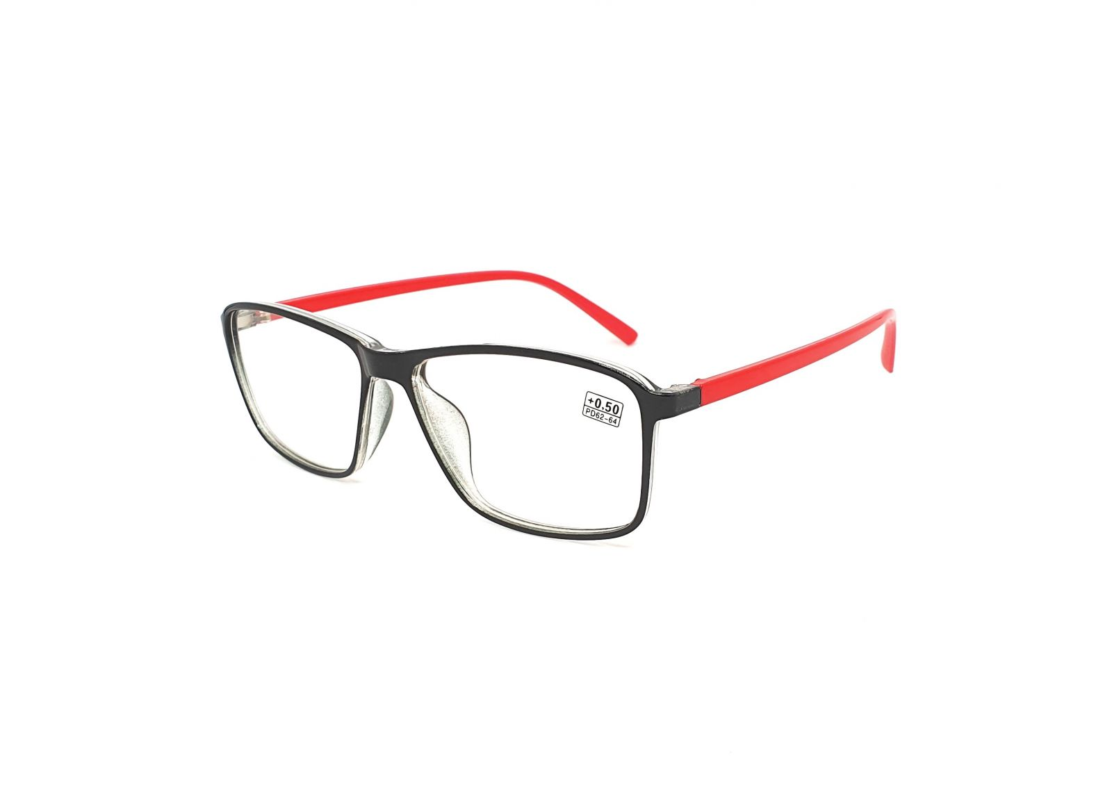 Dioptrické brýle 17218 / +1,00 red
