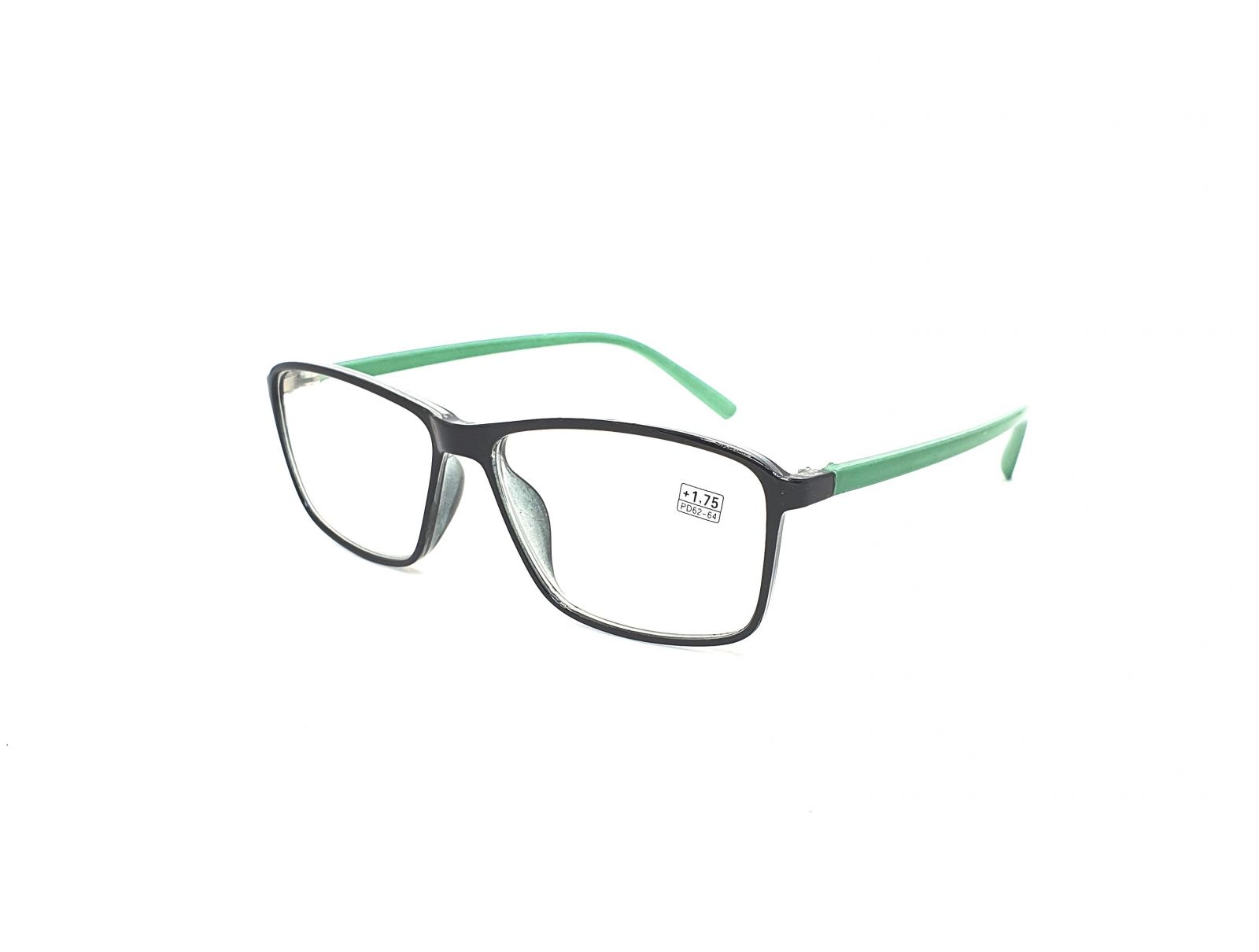 Dioptrické brýle 17218 / +1,75 green