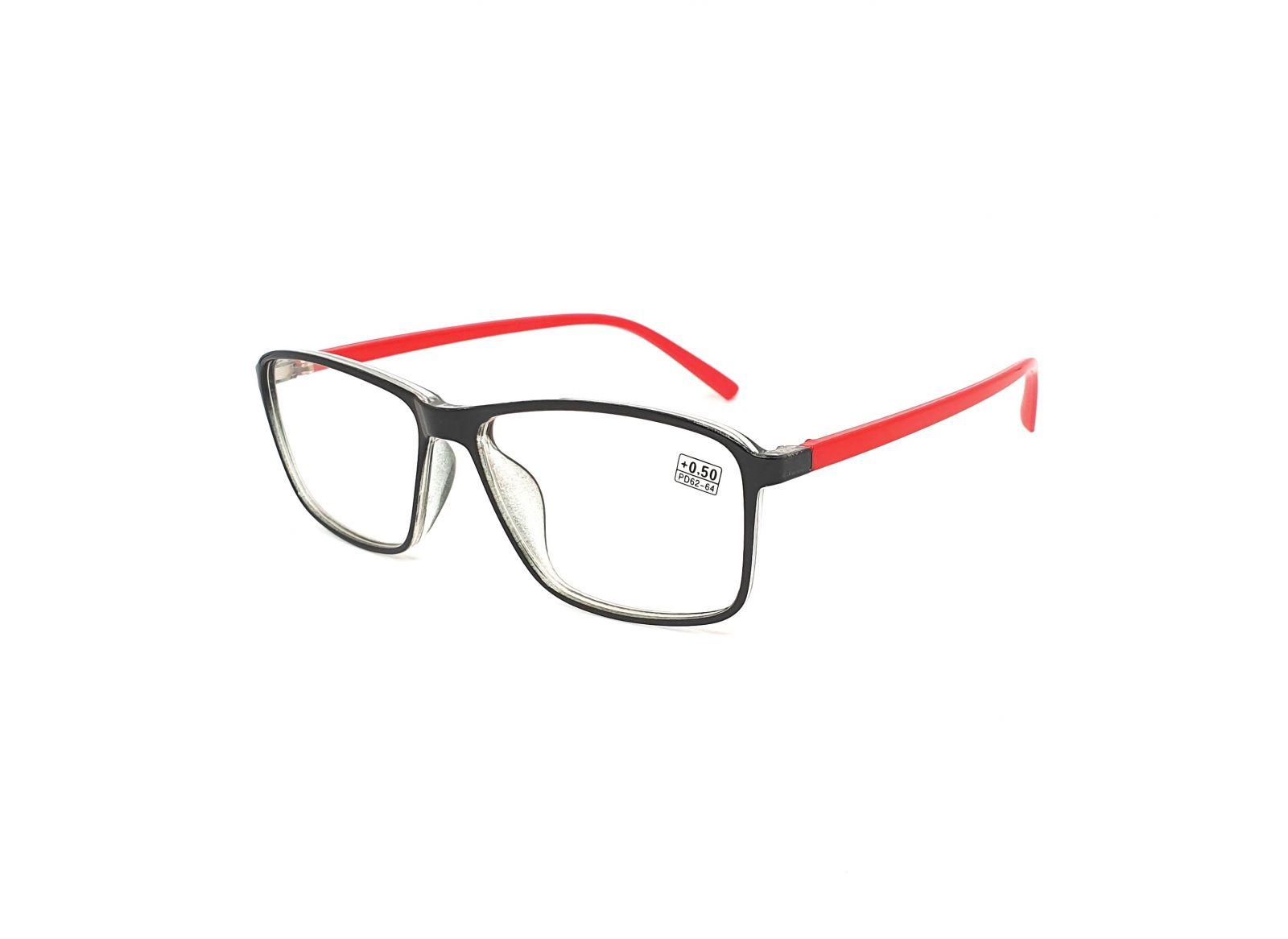 Dioptrické brýle 17218 / +0,50 red