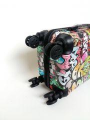 Cestovní kufr ABS CAR TR-A29 S E-batoh