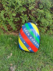 Dětský skořepinový kufr rainbow 2 DENR E-batoh