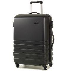 Cestovní kufr ROCK TR-0169/3-M ABS - černá