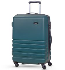 Cestovní kufr ROCK TR-0169/3-M ABS - petrolejová