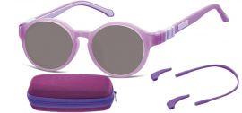 Dětské sluneční brýle (6-8let) flexibilní SK8 obroučky+ příslušenství + pouzdro