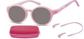 Dětské sluneční brýle (6-8let) flexibilní SK8B obroučky+ příslušenství + pouzdro