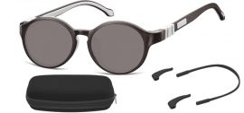 Dětské sluneční brýle (6-8let) flexibilní SK8C obroučky+ příslušenství + pouzdro