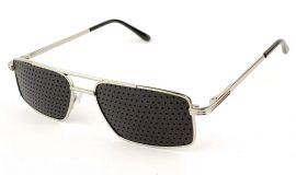Ajurvédské brýle pro zlepšení zraku MY012 Silver