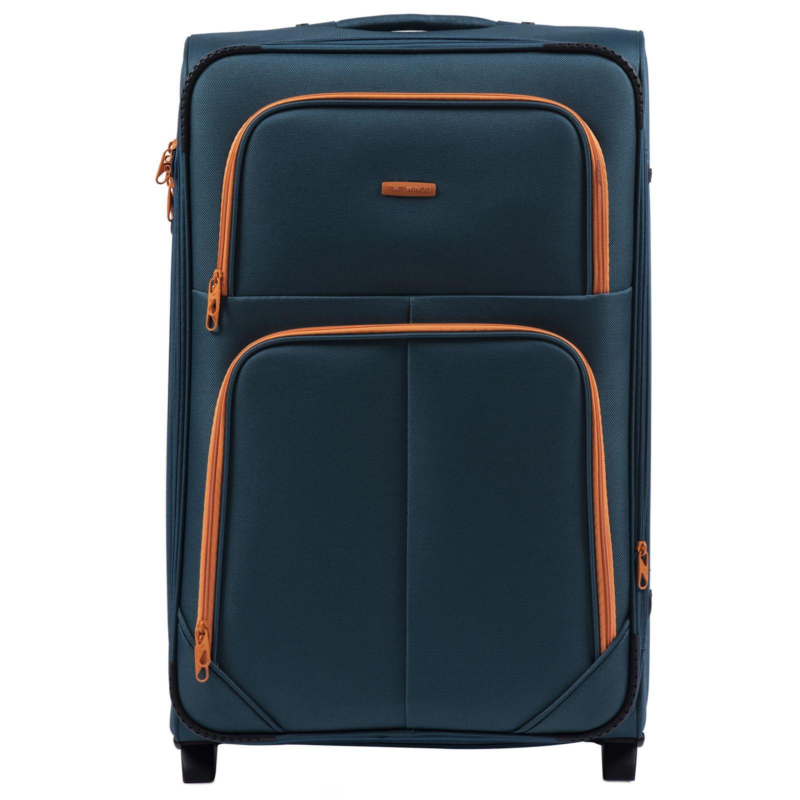 Cestovní kufr WINGS 214 DOUBLE TOURQUSE velký M