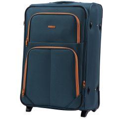 Cestovní kufr WINGS 214 DOUBLE TOURQUSE střední M E-batoh
