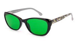 Anti-glaukom brýle 1614-C3 Zelený zákal