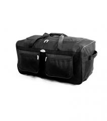 Cestovní taška na kolečkách RODOS A2 BLACK- 125L