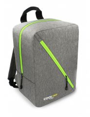 Příruční zavazadlo - batoh pro RYANAIR 40x25x20 GREY-GREEN