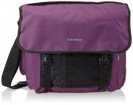 Travelite Basics Messenger Bag Aubergine E-batoh