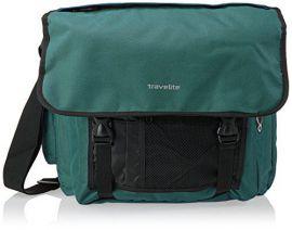 Travelite Basics Messenger Bag Green E-batoh