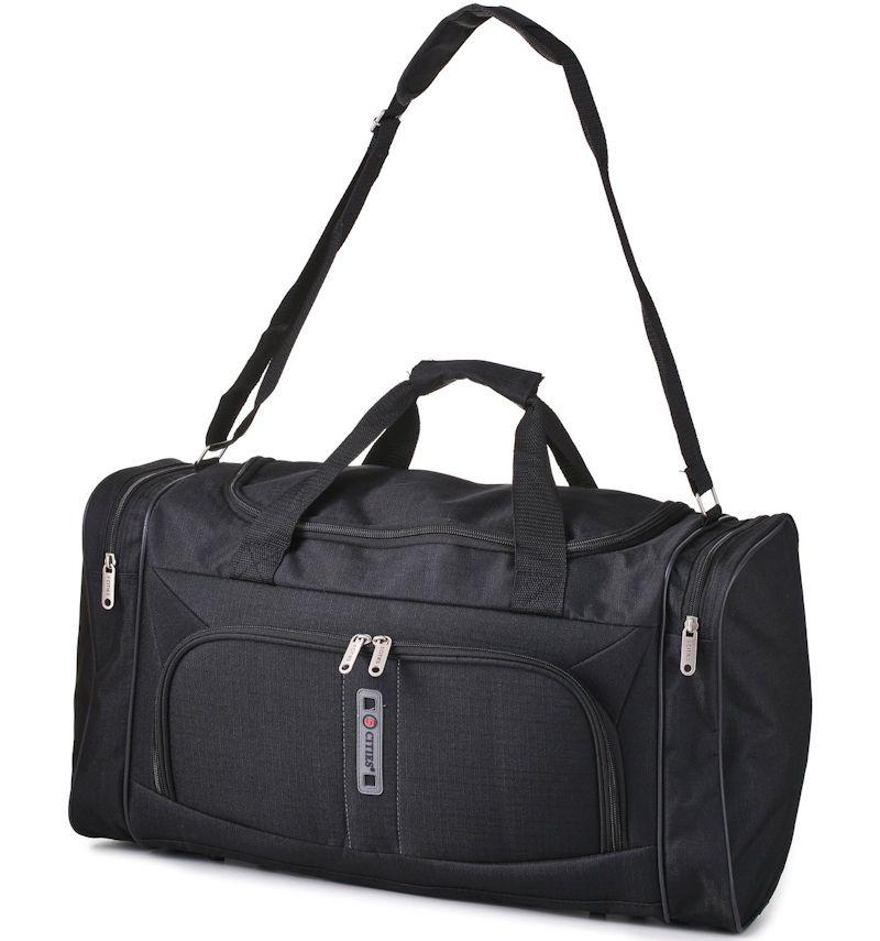 Cestovní taška CITIES 602 - černá E-batoh
