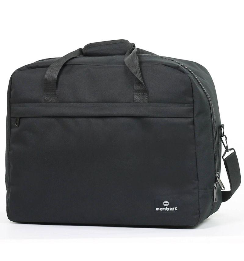 Cestovní taška MEMBER'S SB-0036 - černá E-batoh