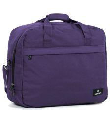 Cestovní taška MEMBER'S SB-0036 - fialová
