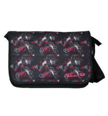 Taška přes rameno OBSESSED 7410 - černá/růžová