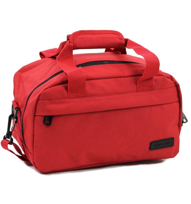 Cestovní taška MEMBER'S SB-0043 - červená E-batoh