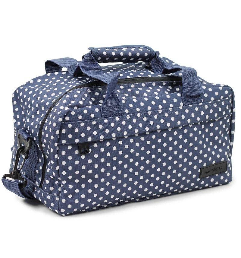 Cestovní taška MEMBER'S SB-0043 - modrá/bílá E-batoh