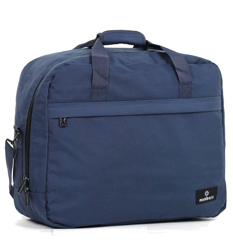 Cestovní taška MEMBER'S SB-0036 - modrá E-batoh
