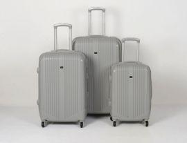 Cestovní kufry sada ABS Trolleykoffer TR-A27 šedá