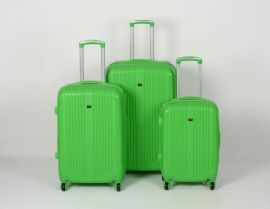 Cestovní kufry sada ABS Trolleykoffer TR-A16 zelená