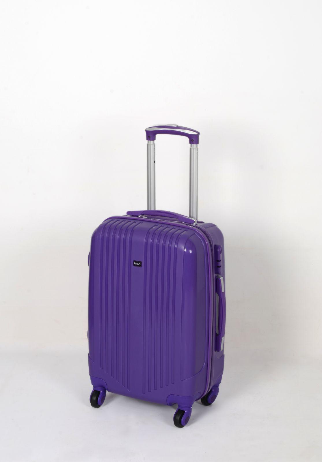 ABS Trolleykoffer TR-A27 MALÝ fialový E-batoh