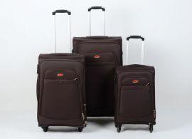 Trolley-CASE TC-K15  4w sada 3 kufru hnědá