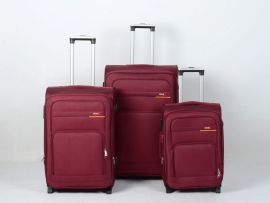 Trolley-CASE TC-B15  sada 3 kufru červená