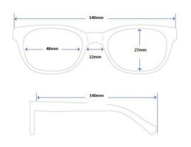 SKLÁDACÍ dioptrické brýle 1305 +4,00 E-batoh
