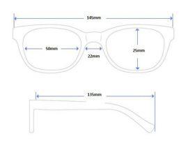 SKLÁDACÍ dioptrické brýle BAIDA 3328 +2,50 E-batoh