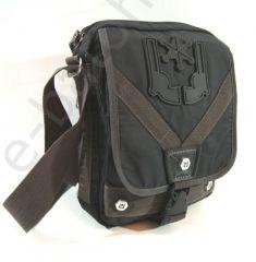 Taška přes rameno VOLUNTEER černá VA-1490-14 E-batoh