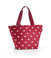 Reisenthel Shopper M Ruby Dots
