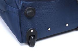 Cestovní taška na kolečkách GLORY malá hnědá E-batoh