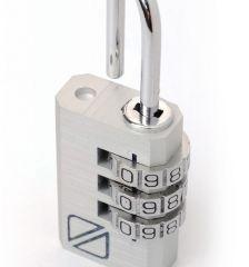 Bezpečnostní kódové zámky na zavazadla TravelBlue 2ks TB032 - stříbrné E-batoh