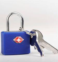 Bezpečnostní TSA zámek na zavazadla TravelBlue TB027 - zelená E-batoh