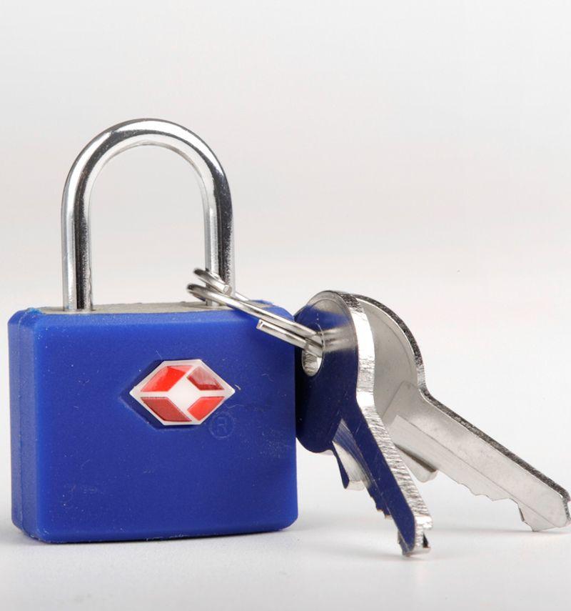 Bezpečnostní TSA zámek na zavazadla TravelBlue TB027 - modrá