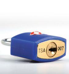 Bezpečnostní TSA zámek na zavazadla TravelBlue TB027 - modrá E-batoh