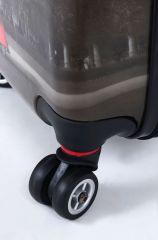 Cestovní kufr ABS Paris TR-A29E malý S E-batoh
