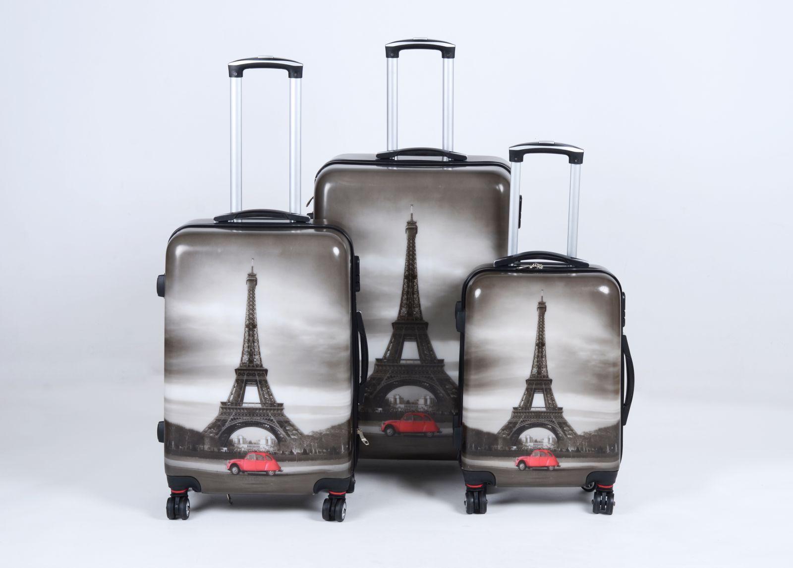 Cestovní kufry sada ABS PARIS TR-A29E