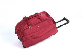 Cestovní taška na kolečkách GLORY střední červená