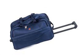 Cestovní taška na kolečkách GLORY střední modrá