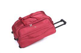 Cestovní taška na kolečkách GLORY velká červená