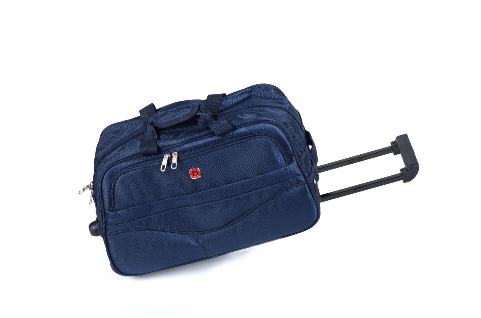 Cestovní taška na kolečkách GLORY malá modrá E-batoh