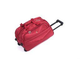 Cestovní taška na kolečkách GLORY malá  červená