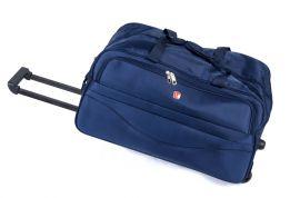 Cestovní taška na kolečkách GLORY velká modrá