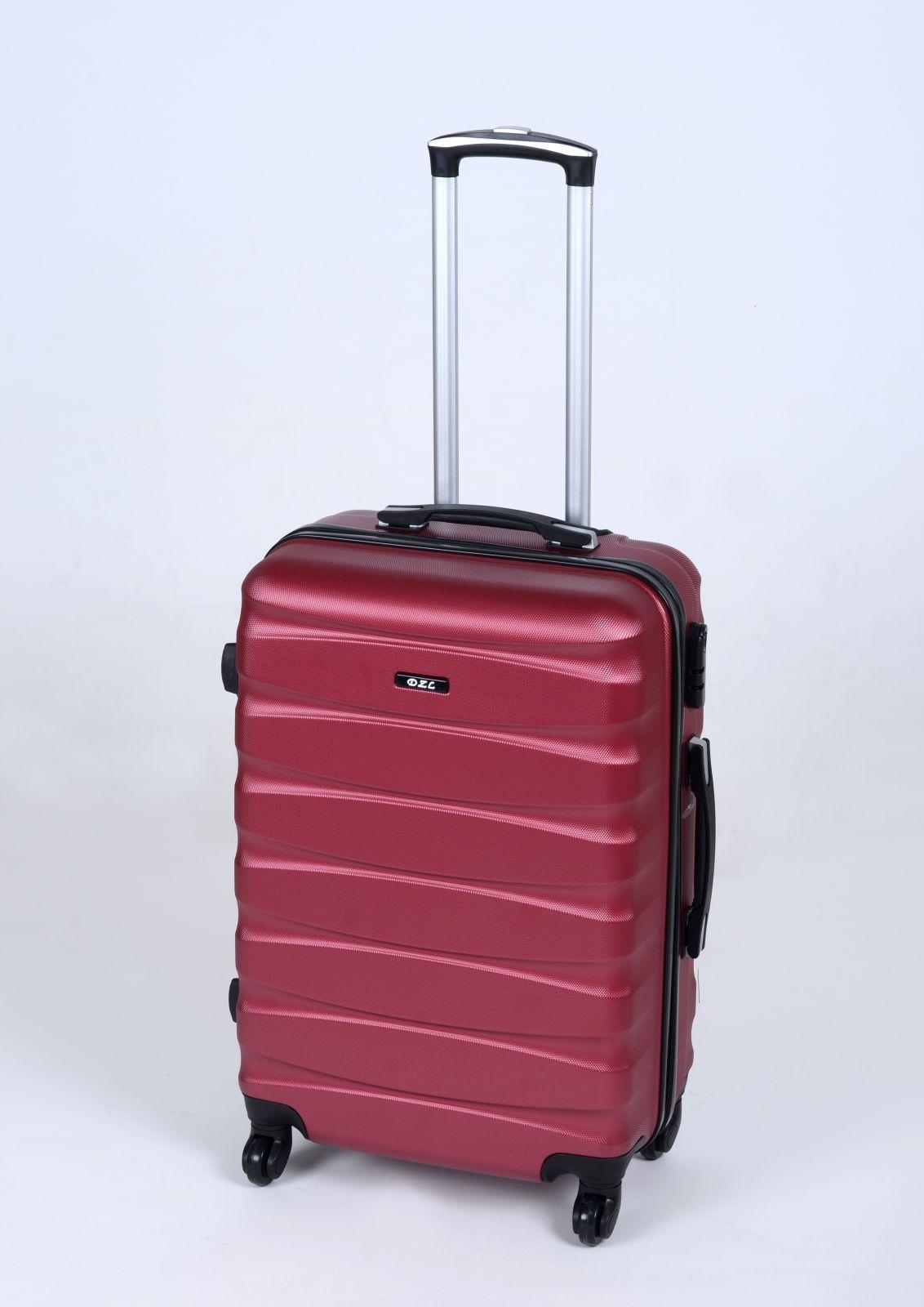 Skořepinový kufr TR-A30 RED BRIGHT střední M